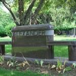 Example 18: Alexander bench