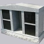 4 Niche Columbarium with Statue niche
