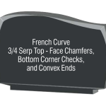 French curve corner checks chamfers convex ends