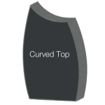 Curved Top