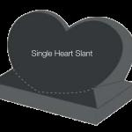 Single Heart Slant