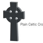 Plain Celtic Cross