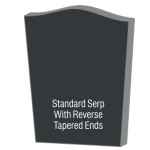 Serp with Reverse Tapered Ends