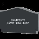 Serp with bottom Corner Checks